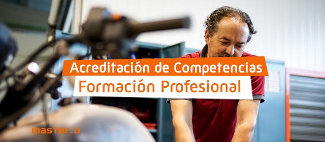 Convocatoria acreditación competencias profesionales