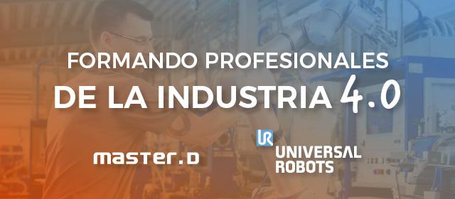 Formación MasterD y Universal Robots
