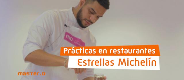 Prácticas en restaurantes Estrella Michelin