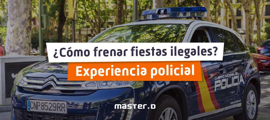 Experiencia policía nacional