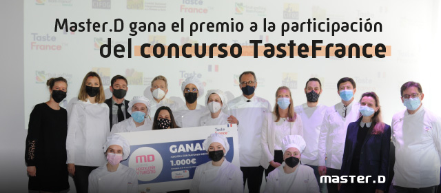 MasterD ganadora del concurso TasteFrance