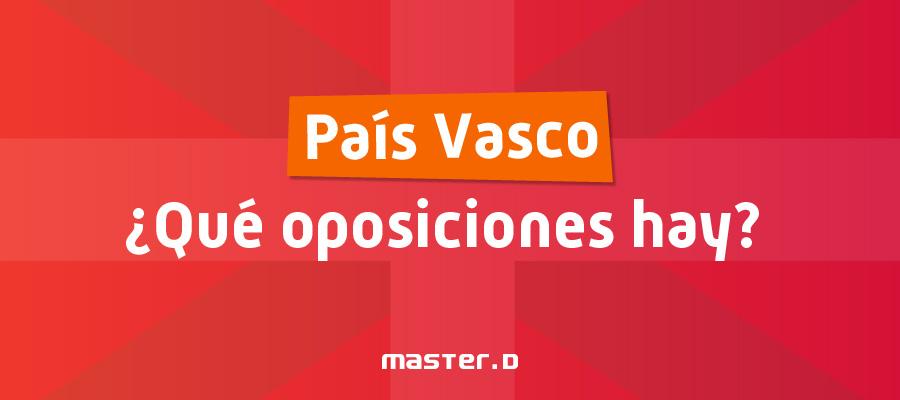 Oposiciones Gobierno Vasco
