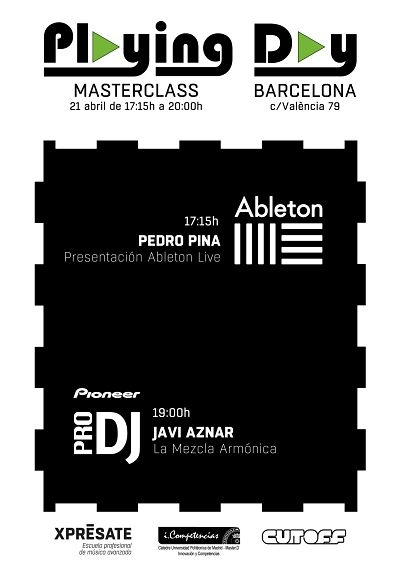 Playing Day: Masterclass en Barcelona
