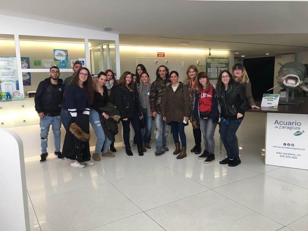 Visita veterinaria acuario zaragoza
