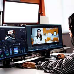 icono de curso de audiovisuales