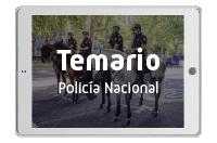 Temarios Policía Nacional Escala Básica
