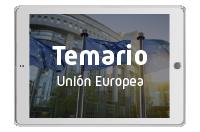 Temario Administradores y asistentes de la Unión Europea