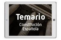 Temario Constitución Española comentada