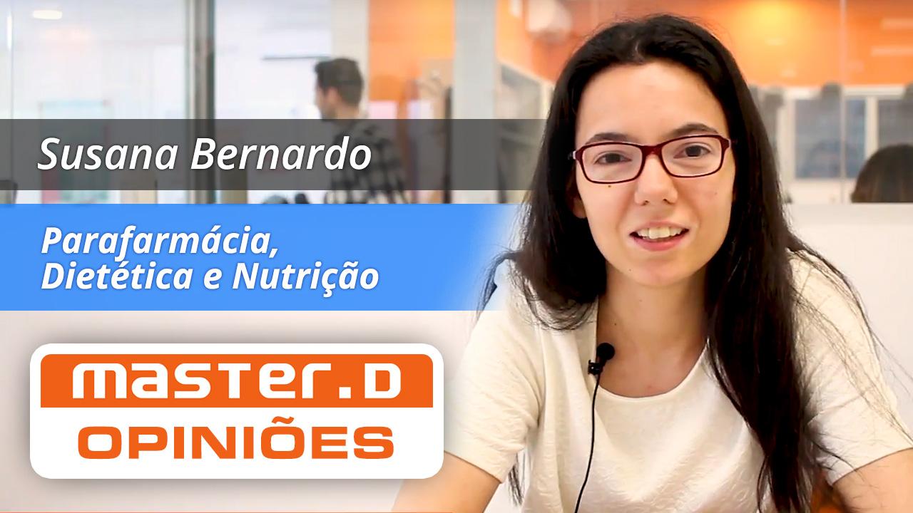 Opinião da Susana Bernado acerca da serviço da Master D