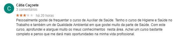 Opinião acerca da Master D Coimbra