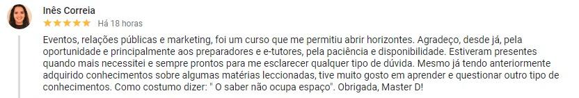 Opinião acerca da Master D Faro