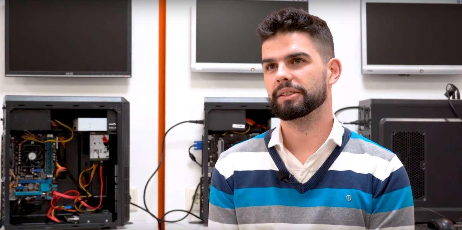 Marco Costa, Curso de Manutenção e Reparação de Desktops e Portáteis com Certificação Microsoft na Master D
