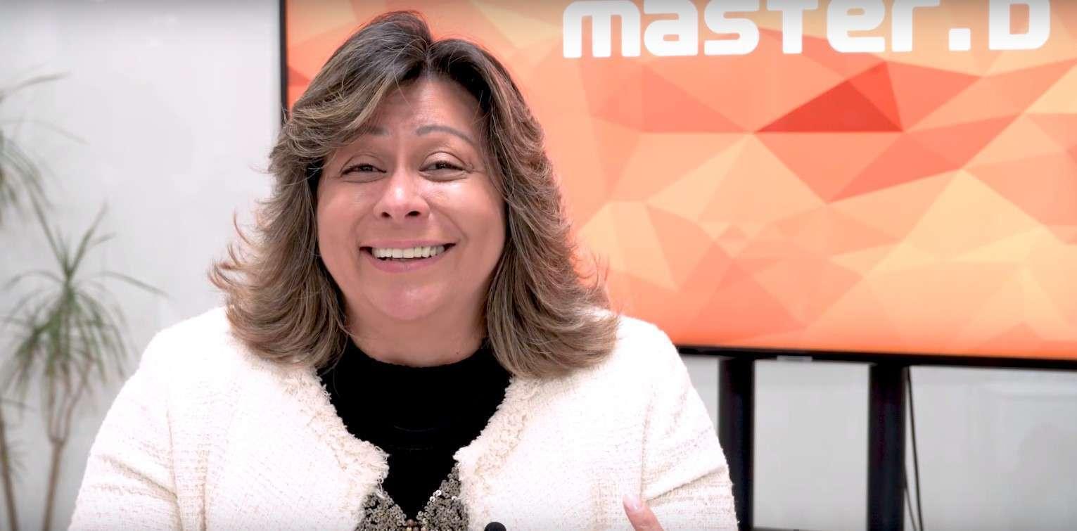 Luci Neves, Curso de Auxiliar de Saúde com especialização em Geriatria da Master D