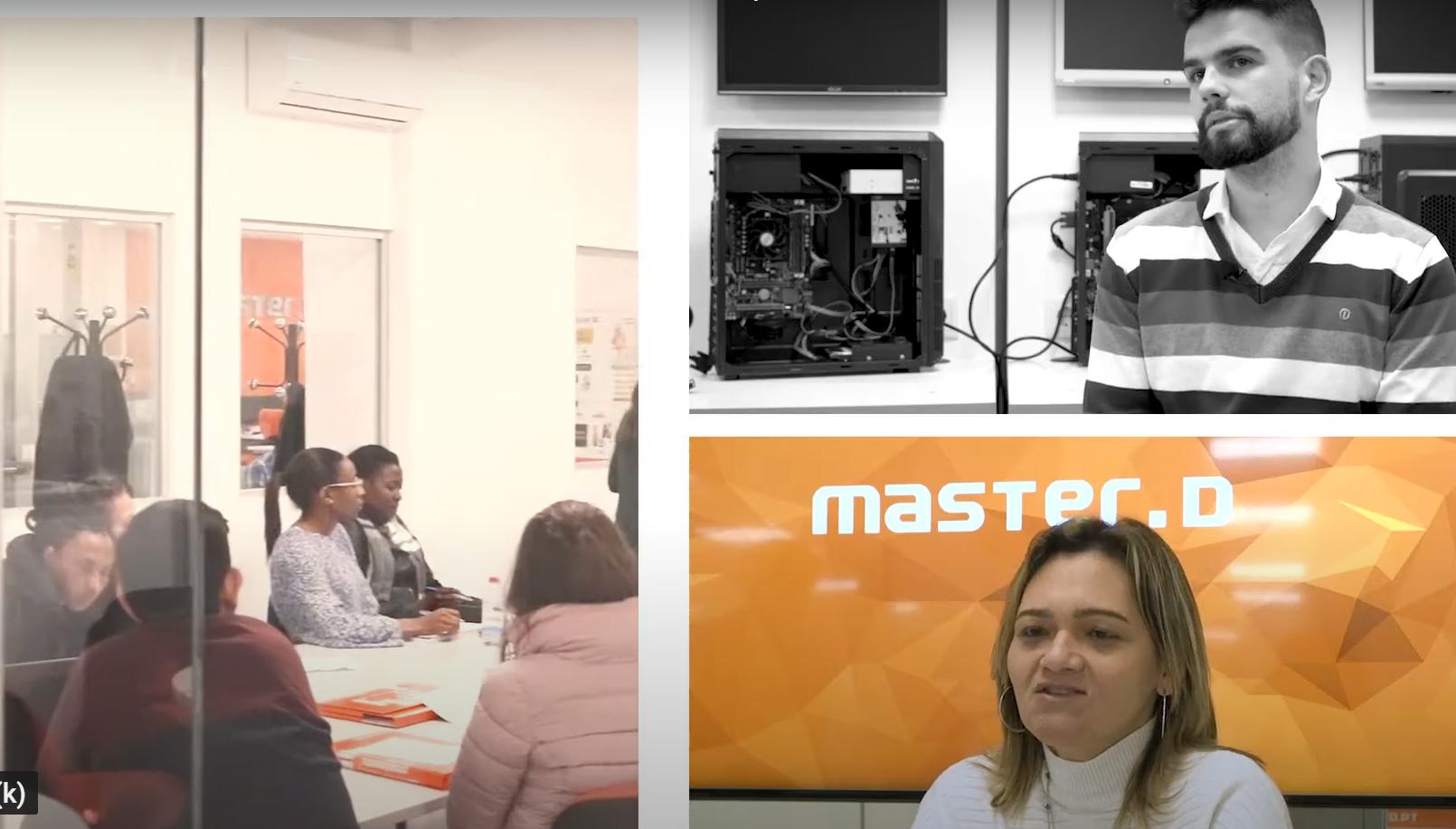Opiniões dos formandos Master D Lisboa
