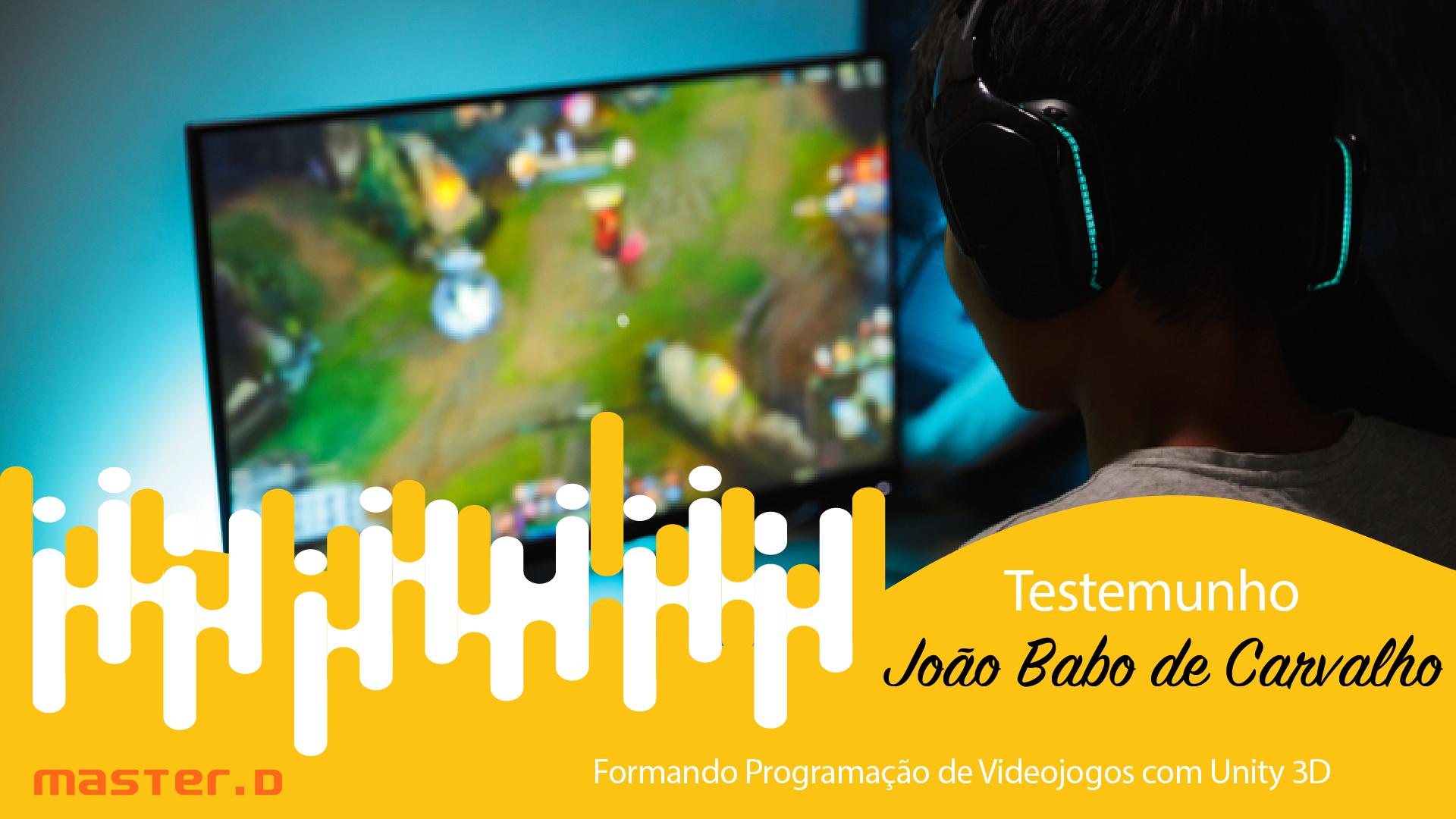 Joao Carvalho - Curso de Programacao Videojogos com Unity 3D