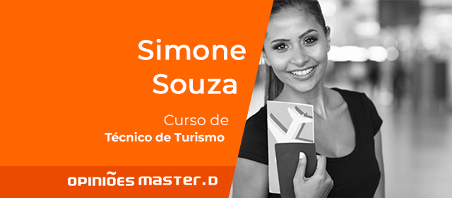 Simone Souza - Curso de Tecnico de Turismo