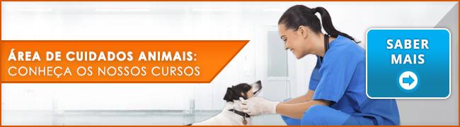 Cursos Cuidados Animais - Banner