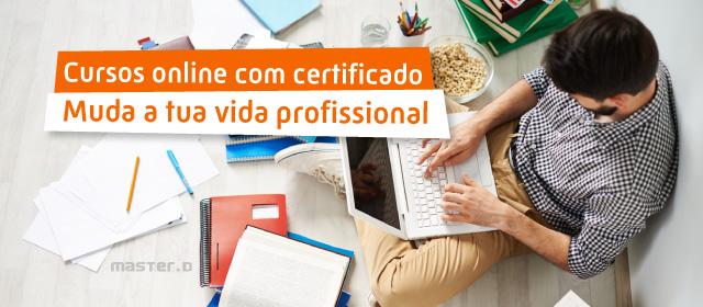 Cursos online com certificado: áreas a apostar