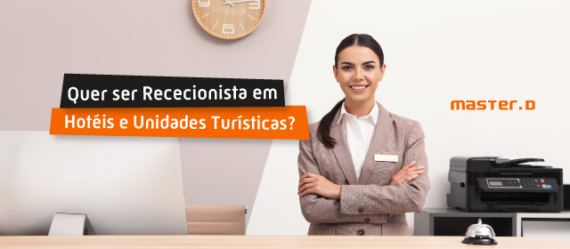 Curso Rececionista Hotel Unidades Turísticas