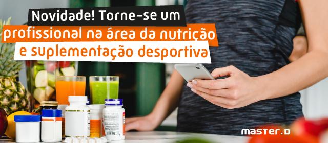 Curso Especialização Dietética, Nutrição e Suplementação Desportiva