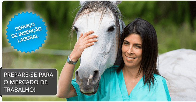 Curso de Auxiliar de Veterinária de Equinos