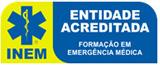 Logo INEM - Entidade Acreditada - SBV