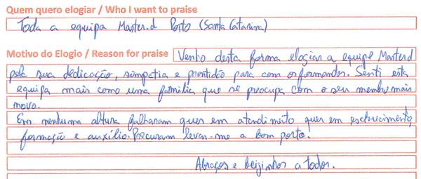 Opinião sobre Master D - Porto