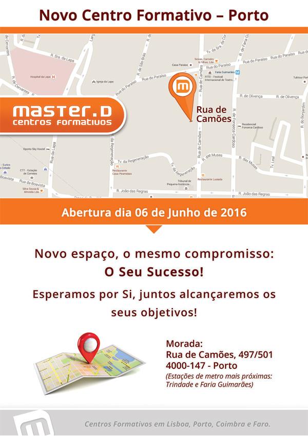Master D Porto - novo centro