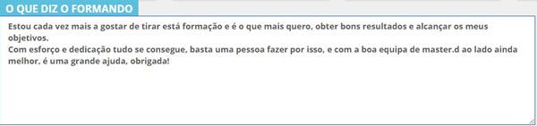 Opinião recebida em maio - Porto