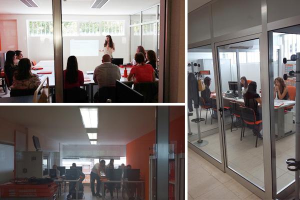Sessões práticas e preparações no novo Centro Formativo da Master.D Porto