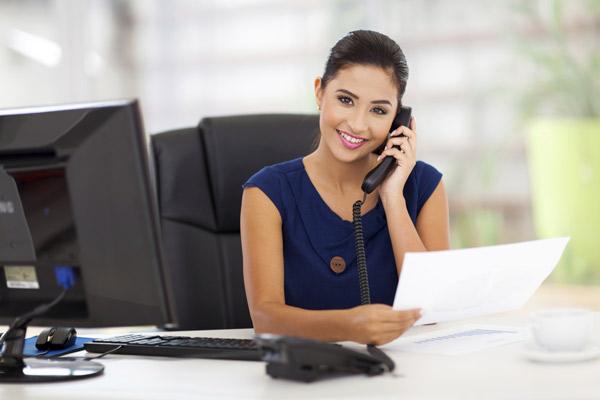 Assistente Administrativo e Rececionista ao telefone