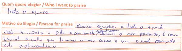 Opinião do Centro formativo de Faro da MAster.D