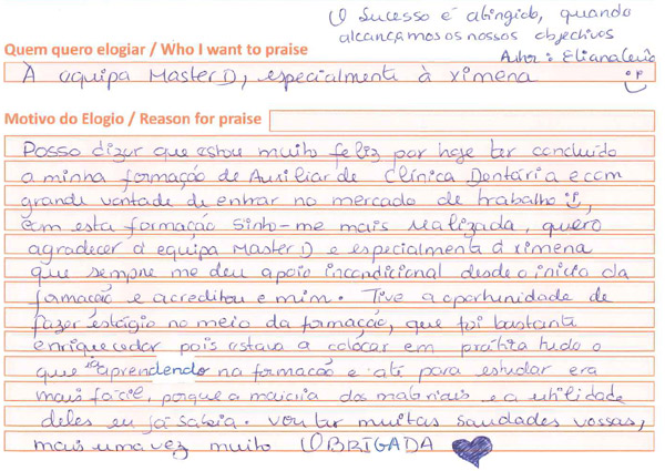 Opinião centro formativo Faro