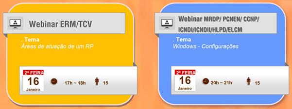 Webinars – Calendário de Janeiro 03