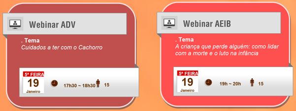 Webinars – Calendário de Janeiro 07