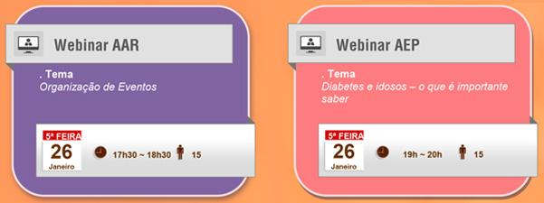 Webinars – Calendário de Janeiro 13