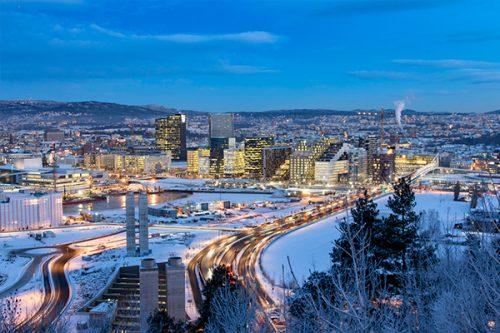 Oslo foi eleita a Capital Verde Europeia