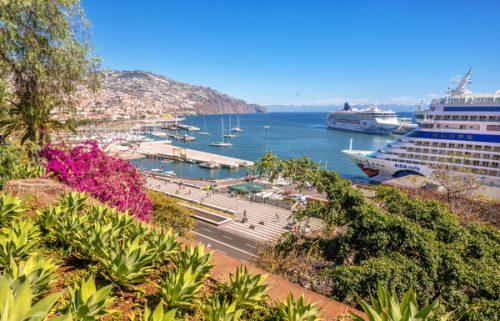 Cruzeiro no Porto do Funchal