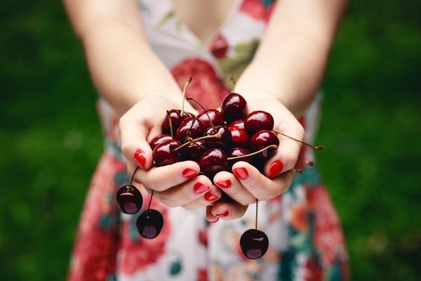 As cerejas do fundão são dos produtos de agricultura biológica mais consumidos.