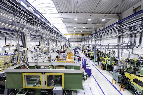 nova unidade industrial
