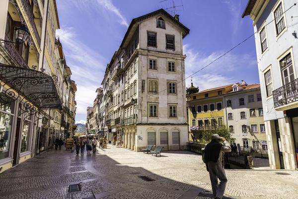 Coimbra - uma das cidades que está a crescer quanto ao turismo na região centro