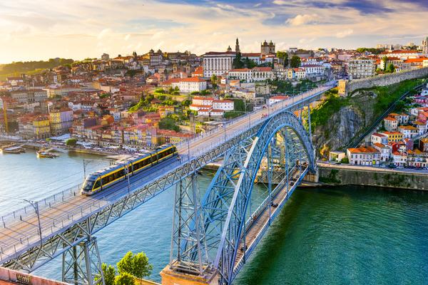 Ponte D. Luís, no Porto