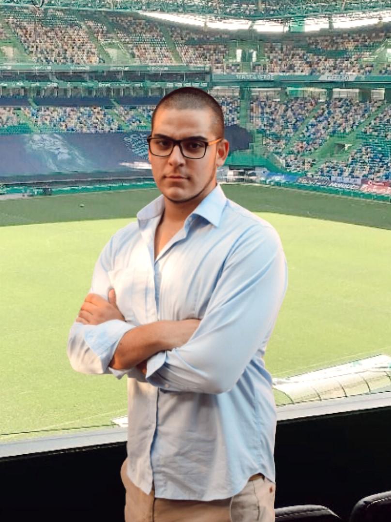 Master D Lisboa – Mauro Diogo está a estagiar no Sporting Clube de Portugal