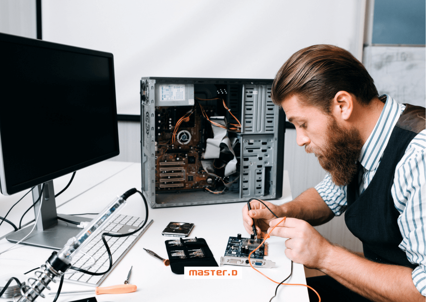 Master D Lisboa - André Silva termina o estágio na área da informática