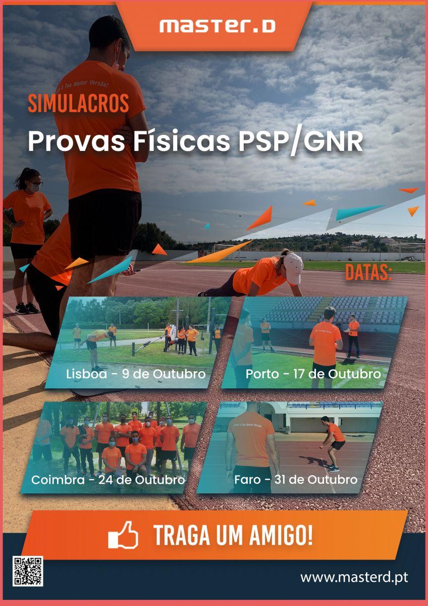 Simulacro Provas Fisicas PSP GNR - Cartaz