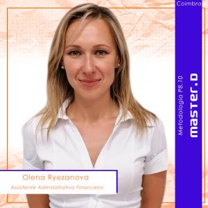 Olena Ryezanova-Formando Master D Coimbra-Curso de Administrativo e Financeiro