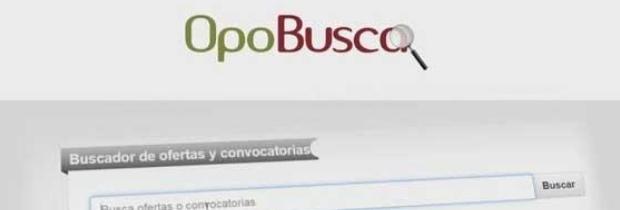 Opobusca, el nuevo buscador de empleo público