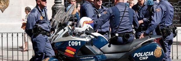 Policía Nacional. Escalas y categorías.
