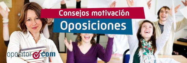 Consejos Oposiciones: Recuperar la motivación