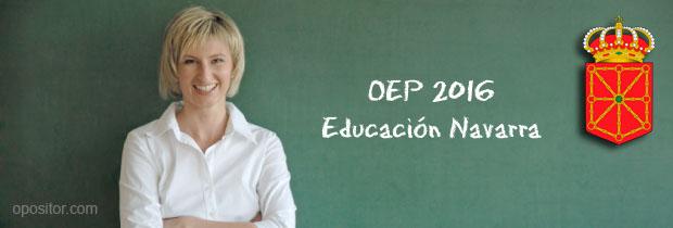 Oferta de Empleo Público de Educación en Navarra